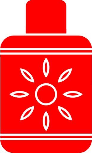 sun tan lotion