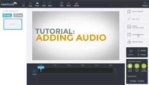 Audio tutorial