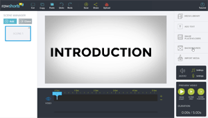 Raw Shorts Overview tutorial