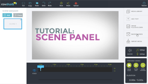 The Scene Panel tutorial
