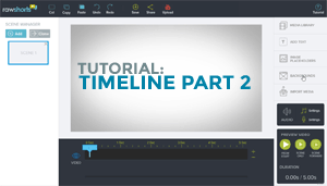 Timeline Pt. 2 – Adjusting scene length tutorial