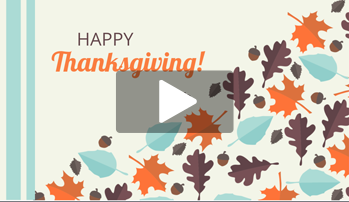 2016 Thanksgiving Video Templates are Here!