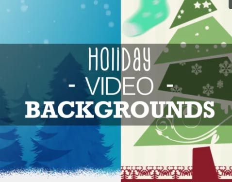 Liven up your Christmas videos with our new Holiday Video Backgrounds