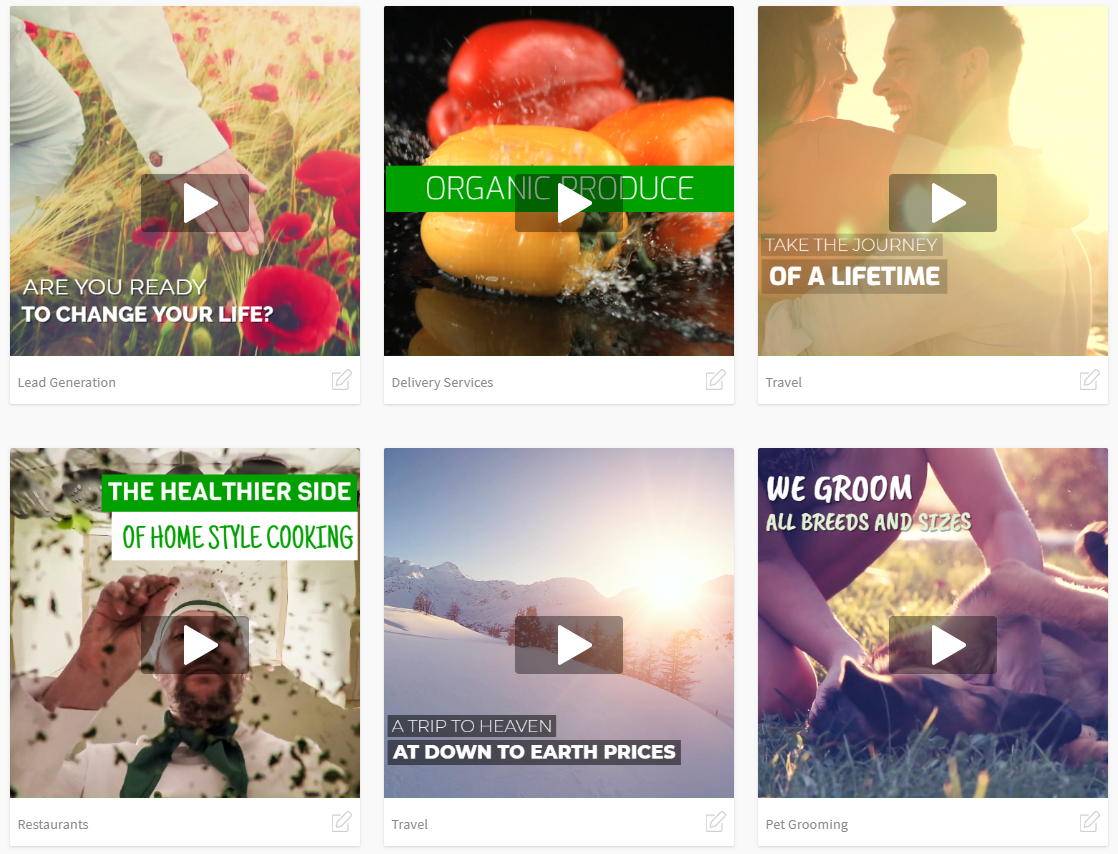 New! Promo Video Templates – Make Video Ads in Minutes