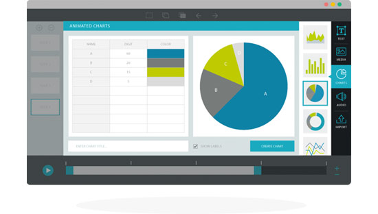 New Feature: Dynamic Animated Charts & Graphs