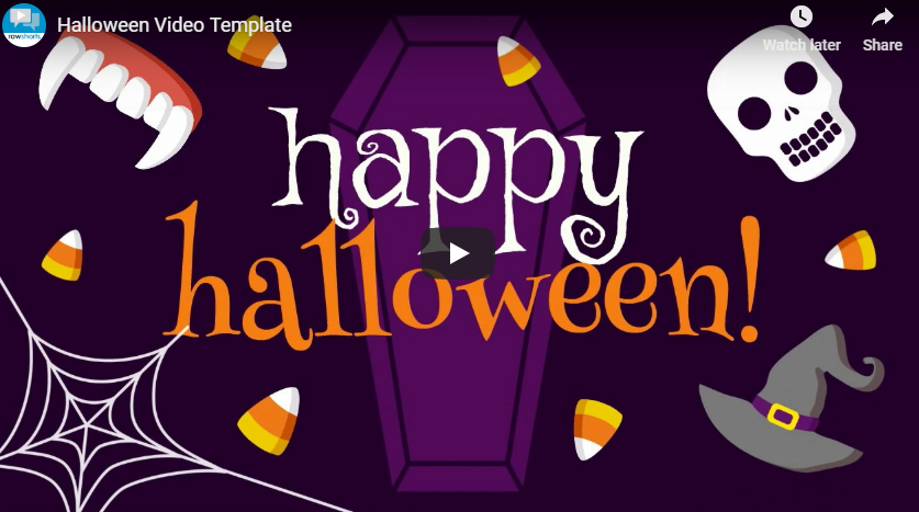 New Video Card Templates for Halloween!
