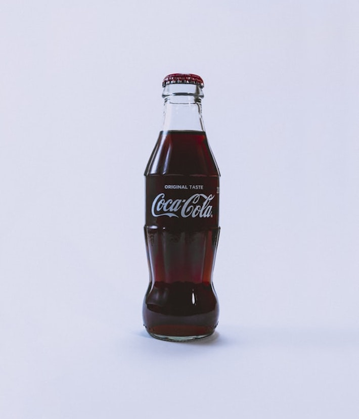 Coca cola does a great job of showcasing it's brand identity