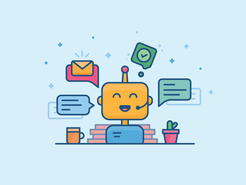 a customer support robot