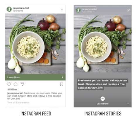 Instagram Feed vs Instagram Stories Ads