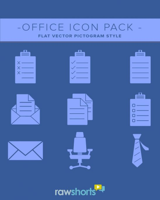 Office Icons - Vector Set