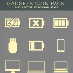 Gadget and Electronics Free Icon Set