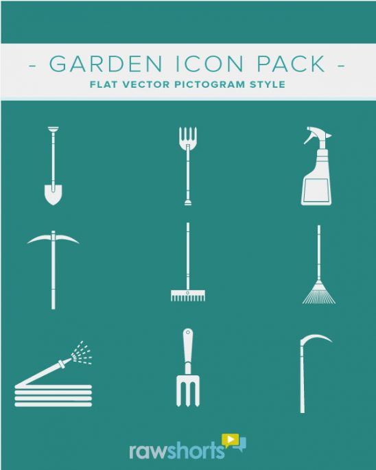 garden_flat_vector_icon_pack