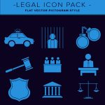 legal_flat_vector_icon_pack