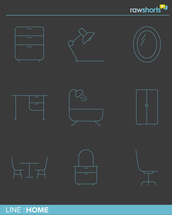 Home Line Icon Pack