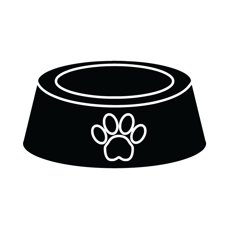 dog bowl � free icons easy to download and use