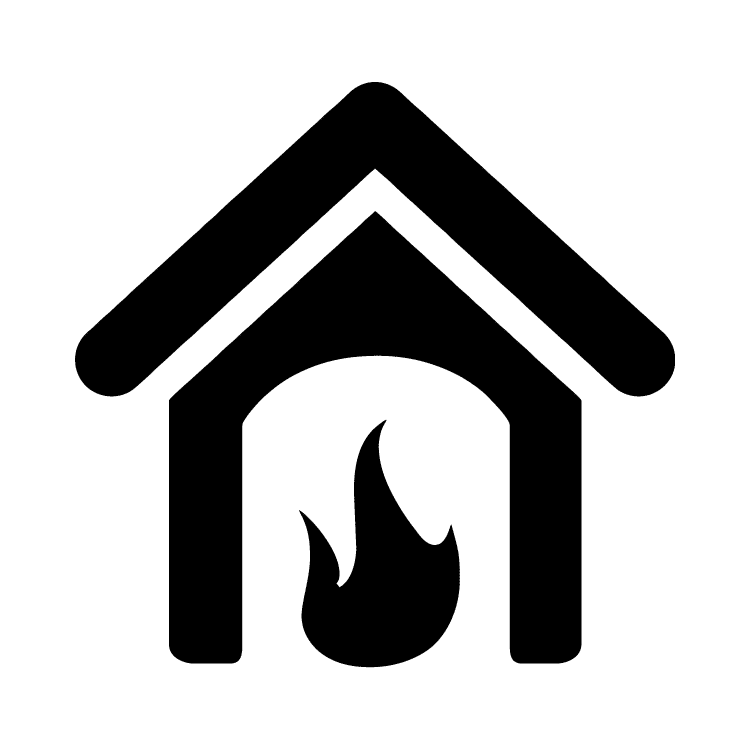 Has Fireplace Icon Free Icons Easy To Download And Use
