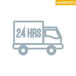 24 hr delivery truck
