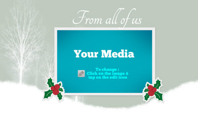 Holiday greetings video template 06